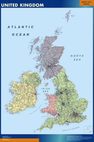 United Kingdom map